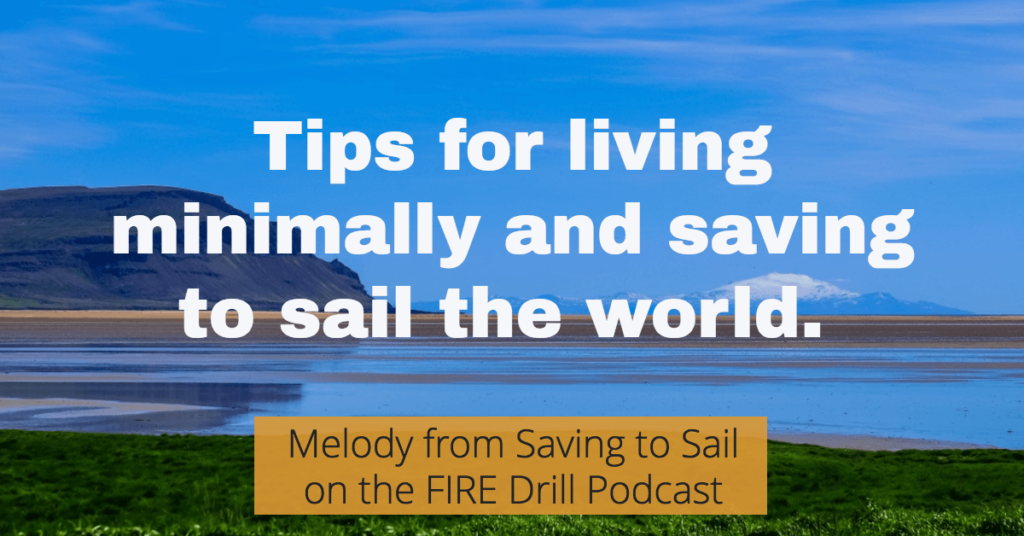 melody saving to sail fire drill podcast