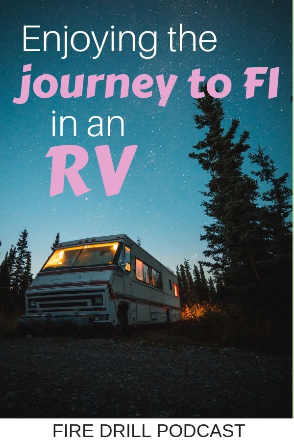 Enjoying the journey to FI in an RV