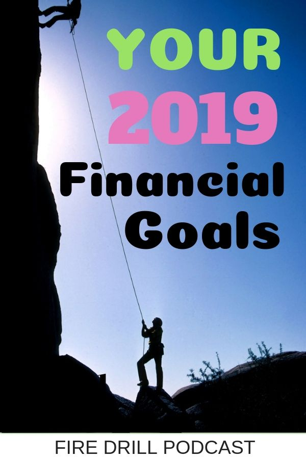 Your 2019 Financial Goals
